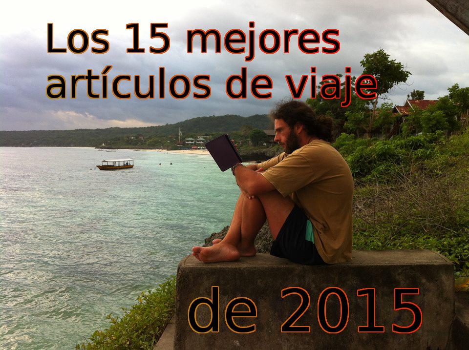 Los 15 mejores artículos de viaje de 2015