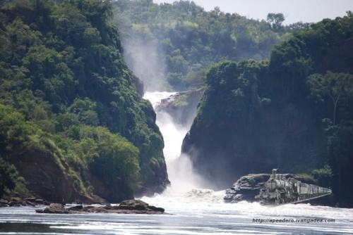 Acercándonos a las Murchison Falls