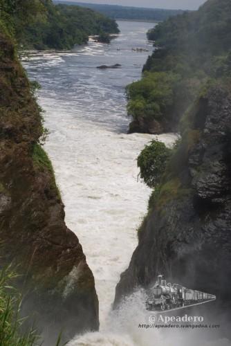 Las famosas Murchison Falls