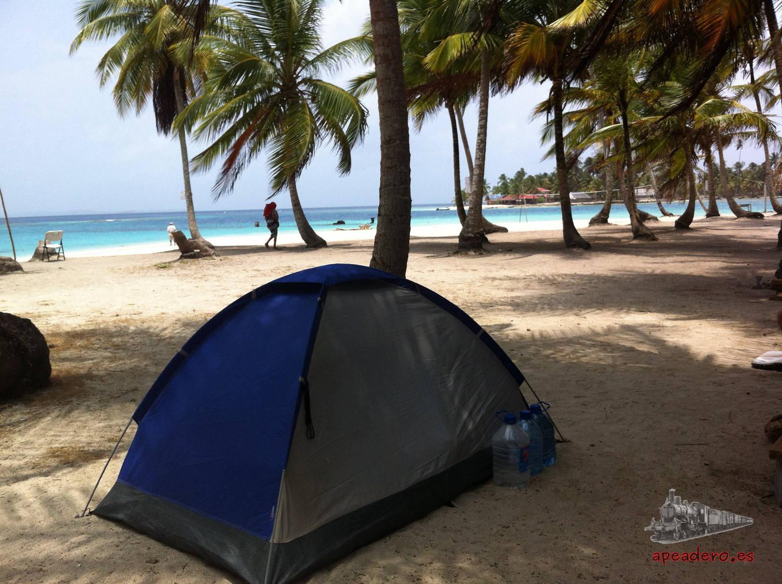 Tiendas de campaña ultraligeras para viajar