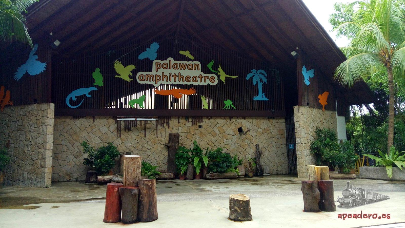 Anfiteatro de Palawan gratis en Singapur