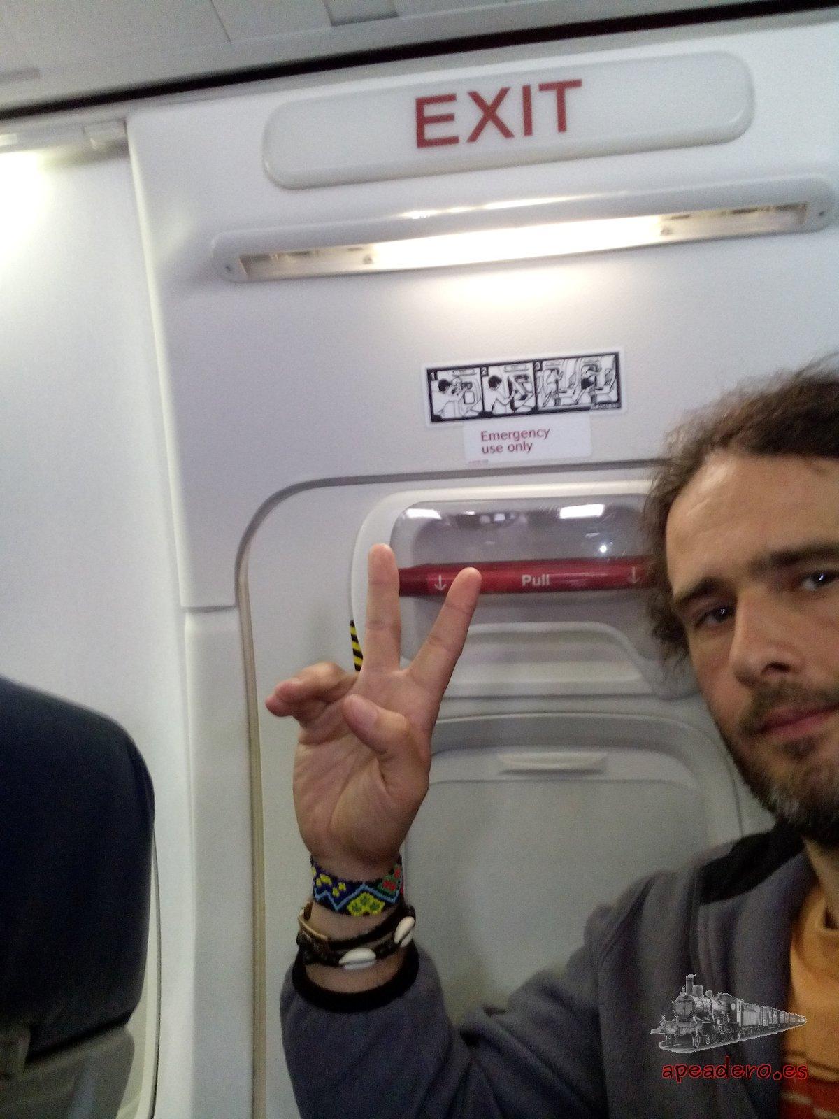 Cómo conseguir gratis el asiento de emergencia (aviones)