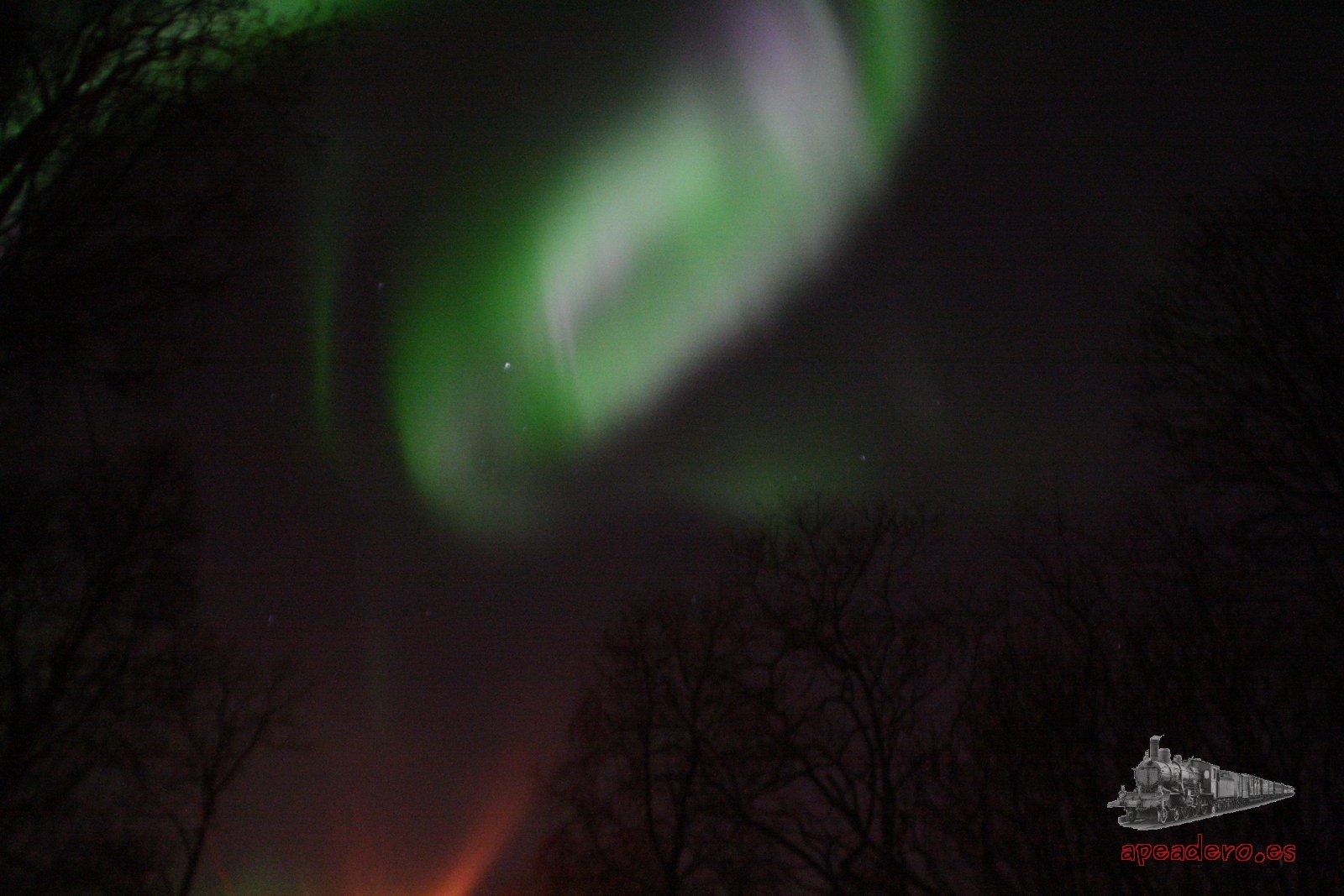Viaje para ver la aurora boreal