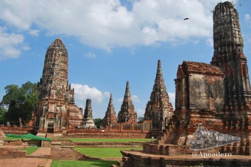 Ayutthaya es la antigua capital de Siam