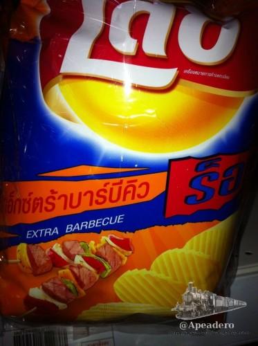 Un clásico, también a los tailandeses les gusta la barbacoa.