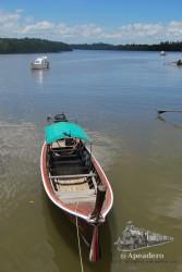 Los barqueros querrán venderte excursiones para ver los alrededores.
