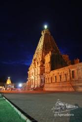 El Big Temple es uno de los templos más fotogénicos que encontramos en el sur de la India.