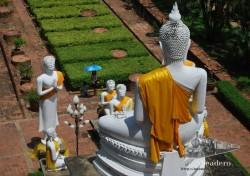 El budismo está presente en todas partes en Tailandia.