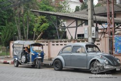 Los vehículos que se pueden encontrar en Chiang Mai y en toda Tailandia son, cuanto menos, curiosos.