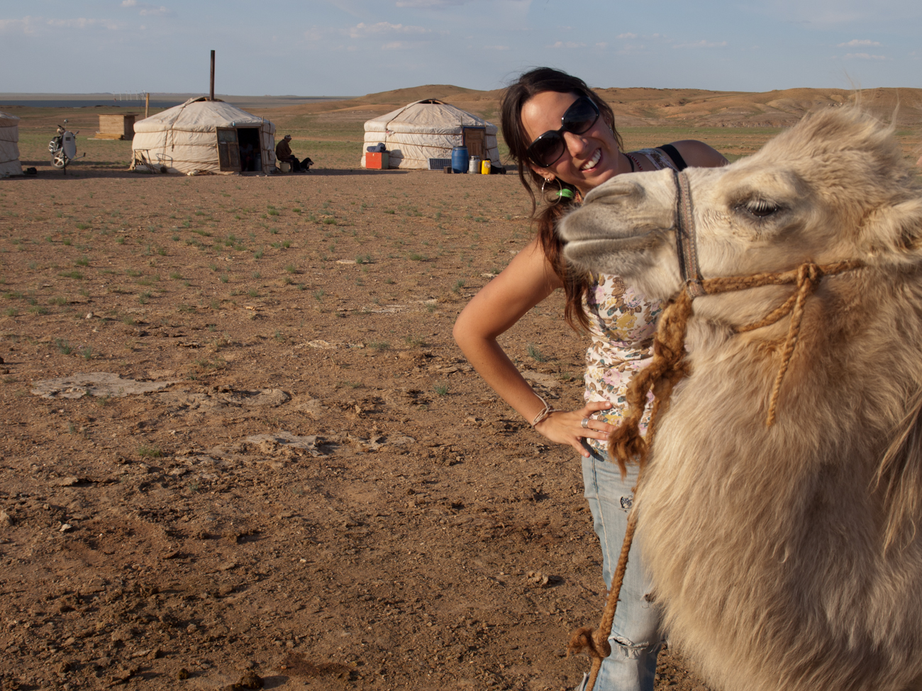 Carmen en Mongolia