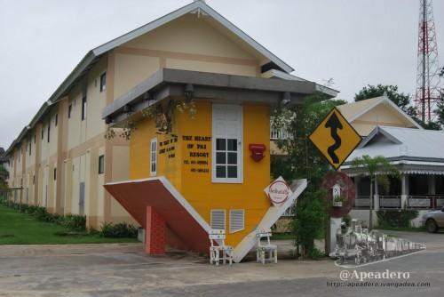 La casa al revés es uno de los símbolos de Pai desde que apareció en una famosa película tailandesa.