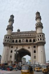El Charminar es uno de los símbolos de la India.