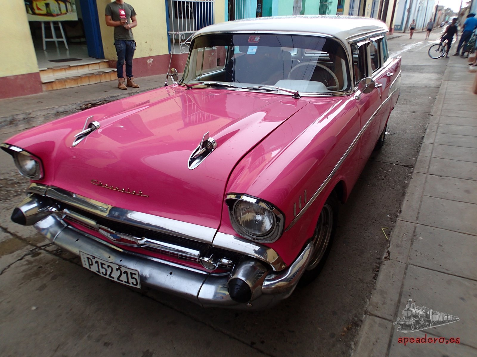En cualquier ciudad de Cuba encontrarás joyas de 4 ruedas.