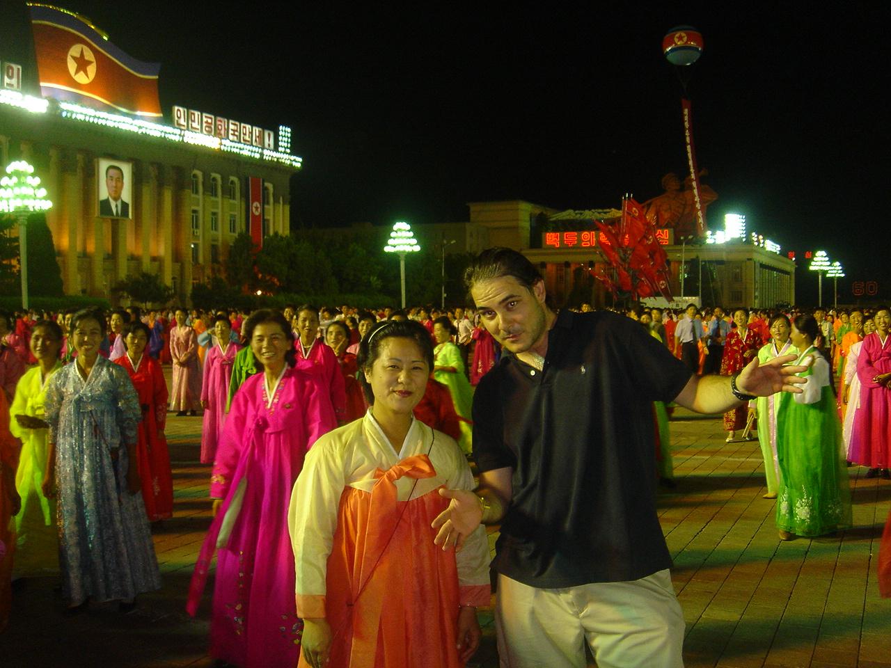 José Antonio en Corea del Norte