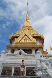 Cúpula del templo del buda dorado.