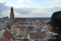 Wroclaw nos sorprende con una gran cantidad de edificios históricos.
