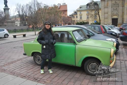 El trabant es el coche típico de los paises del este