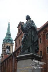 Torun es la ciudad natal de Copérnico. Su casa, convertida en museo, se puede visitar.