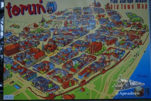 Este es un mapa ilustrado que fue el que nos ayudó a encontrar el hostel, ya que por las indicaciones, imposible.