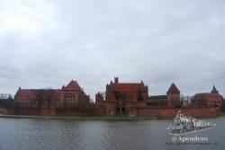 Malbork es famoso por su impresionante castillo.