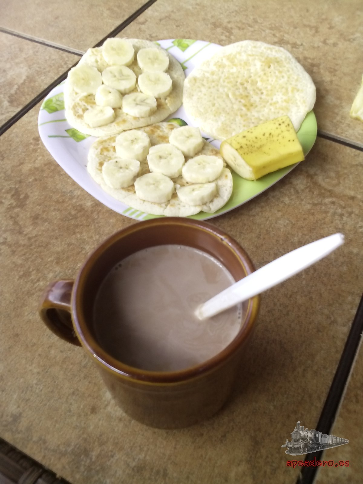 Los desayunos del Hostel Nomba son los mejores que tuvimos en todo nuestro periplo por Panamá.