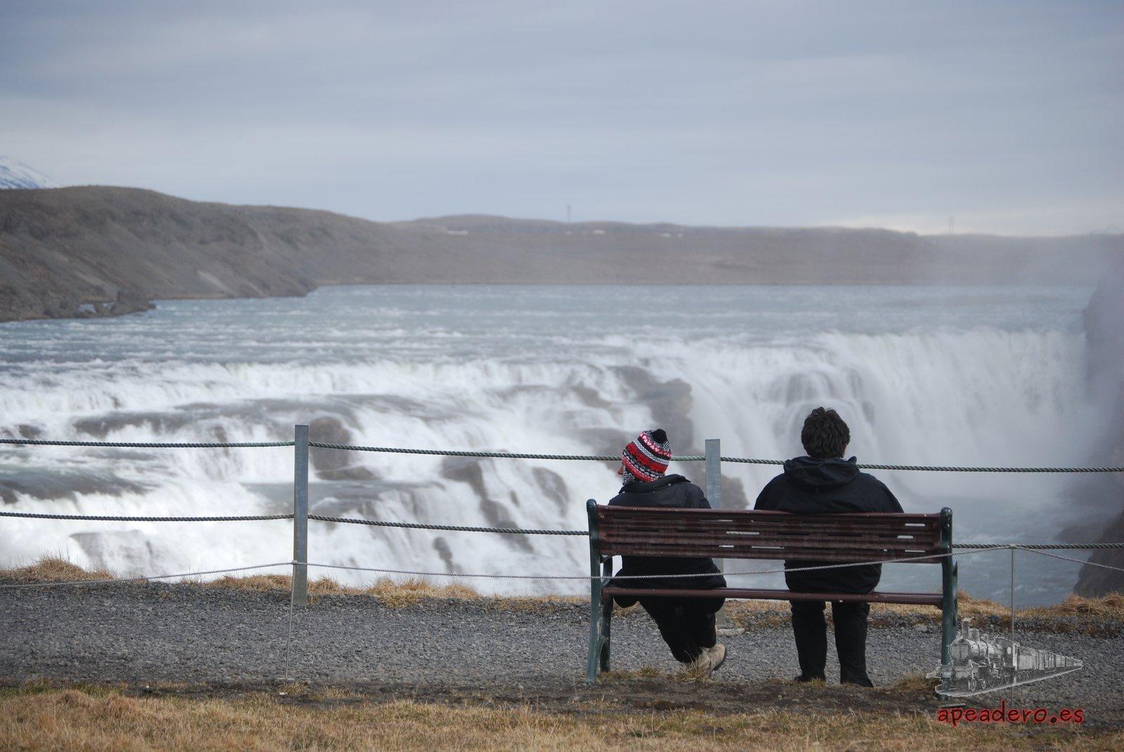 El área de Gullfoss es de las más cuidadas de todo el país.