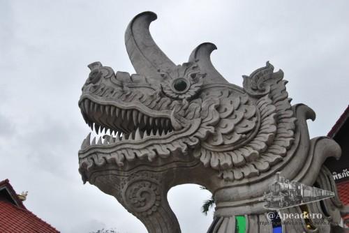 Chiang Mai es una ciudad preciosa, con una gran cantidad de expresiones artísticas de valor incalculable.