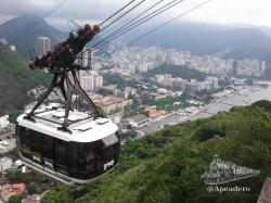 Junto al cristo redentor, el teleférico al pan de azúcar es el símbolo más reconocible de Río de Janeiro