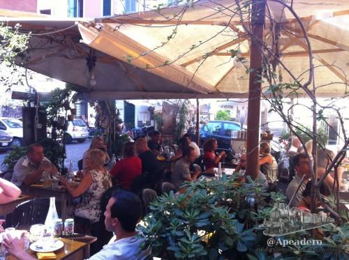 Aunque en Roma siempre apetece estar en la calle, en pleno verano no es muy recomendable.