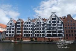 Arquitectónicamente Gdansk es muy bonita.