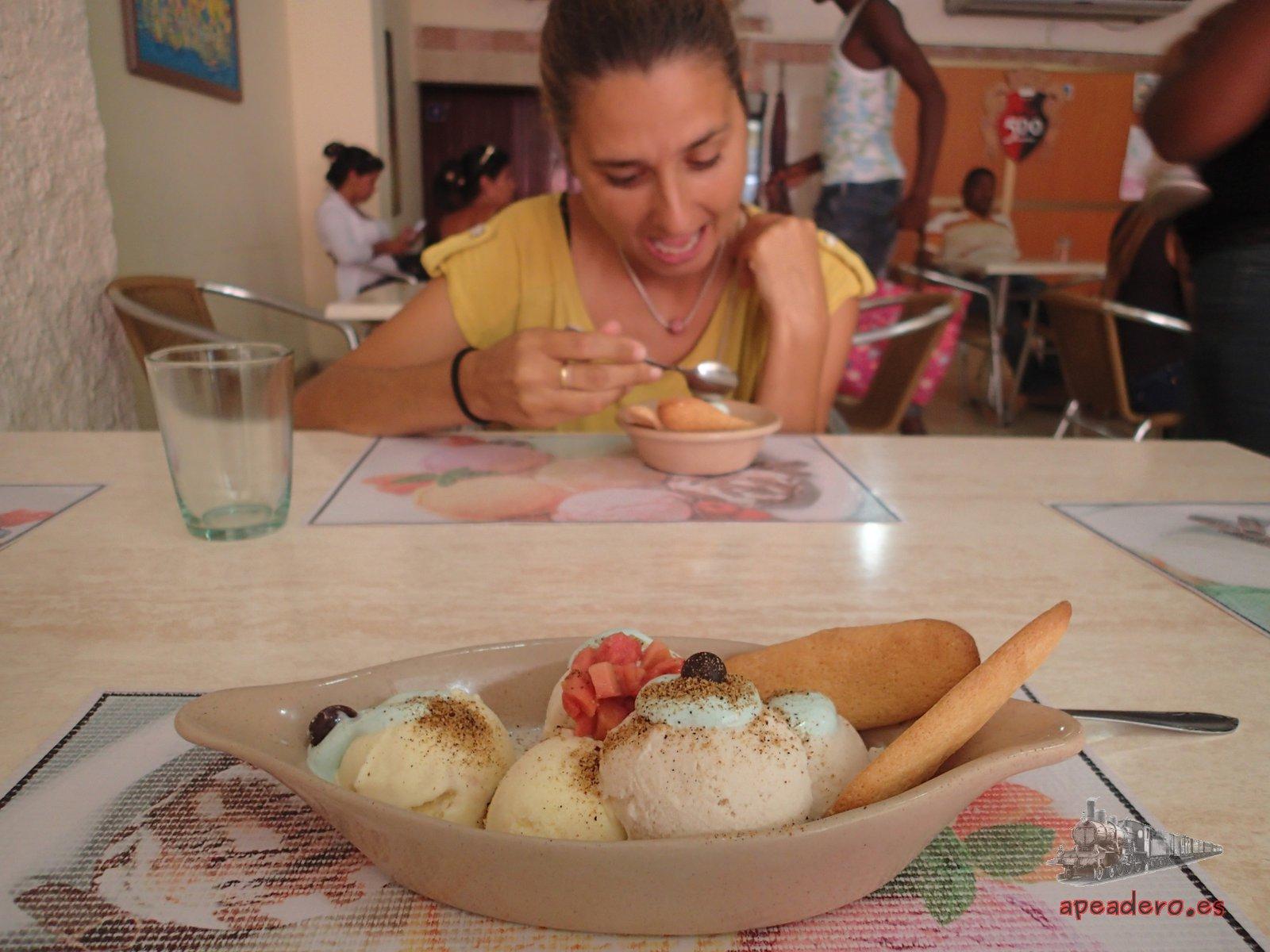 Heladería en Santiago de Cuba por libre