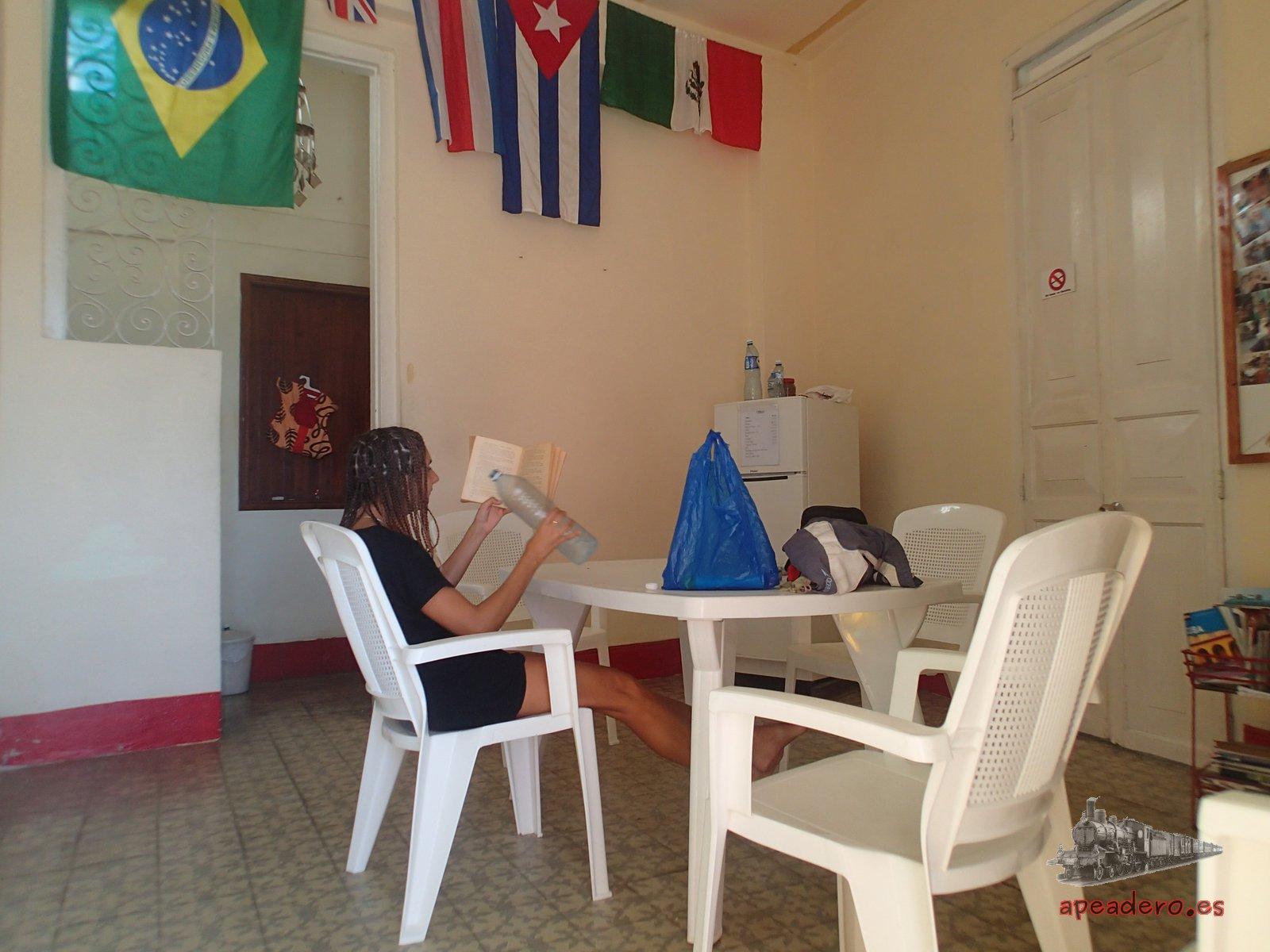 El Hamel Hostel de Wilfredo y Magnolia fue nuestro hogar más que nunca estos 3 días en los que decidimos bajar el ritmo y disfrutar de La Habana como cubanos.