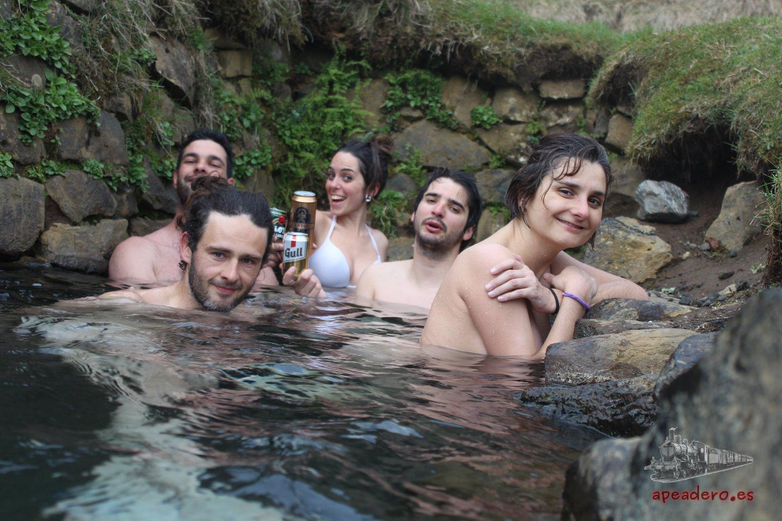 De piscina termal a fuente termal
