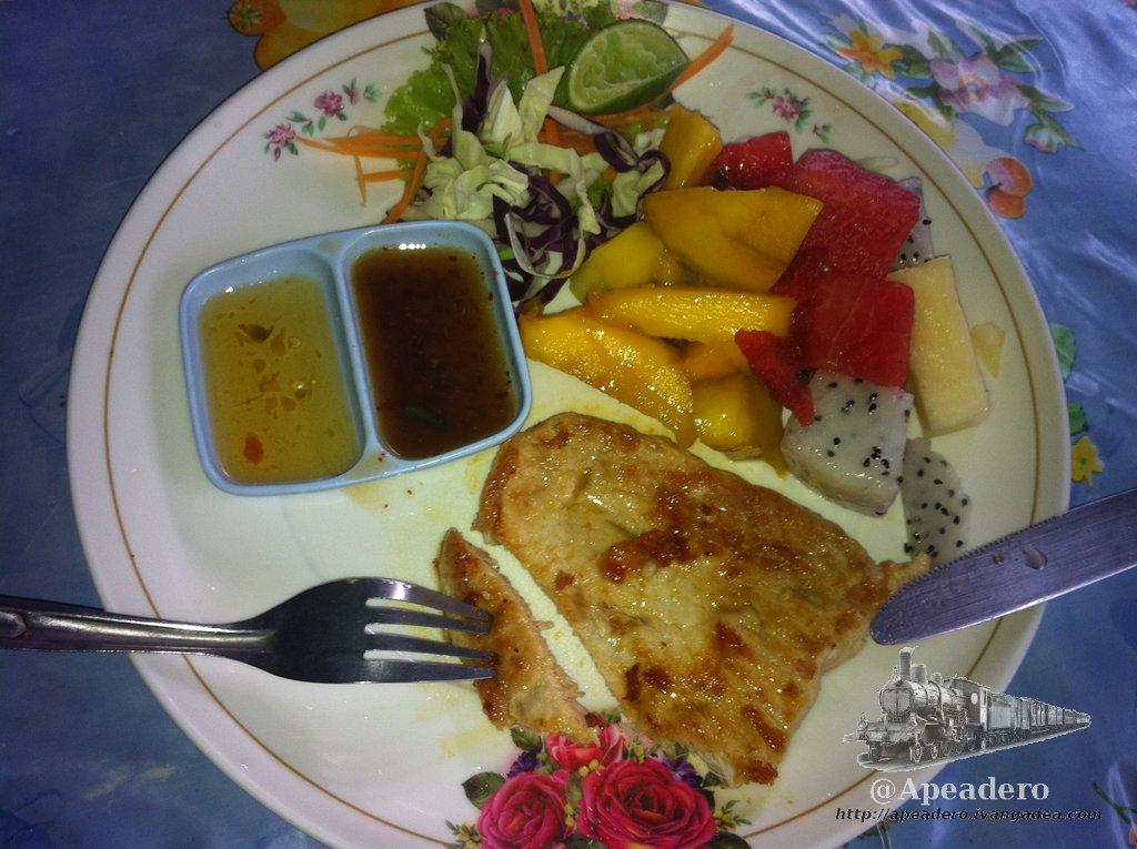 La comida en Tailandia
