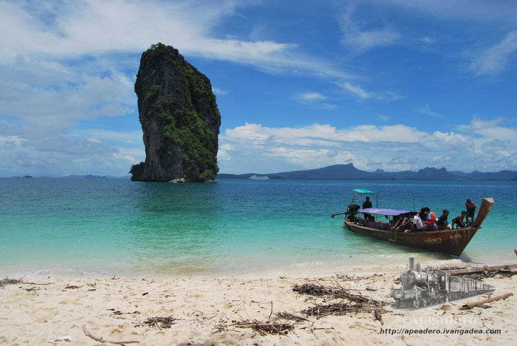 Las 4 islas de Krabi (Tailandia)