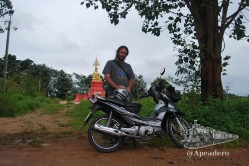 Fueron muchas las motos que alquilamos a lo largo y ancho de Tailandia.