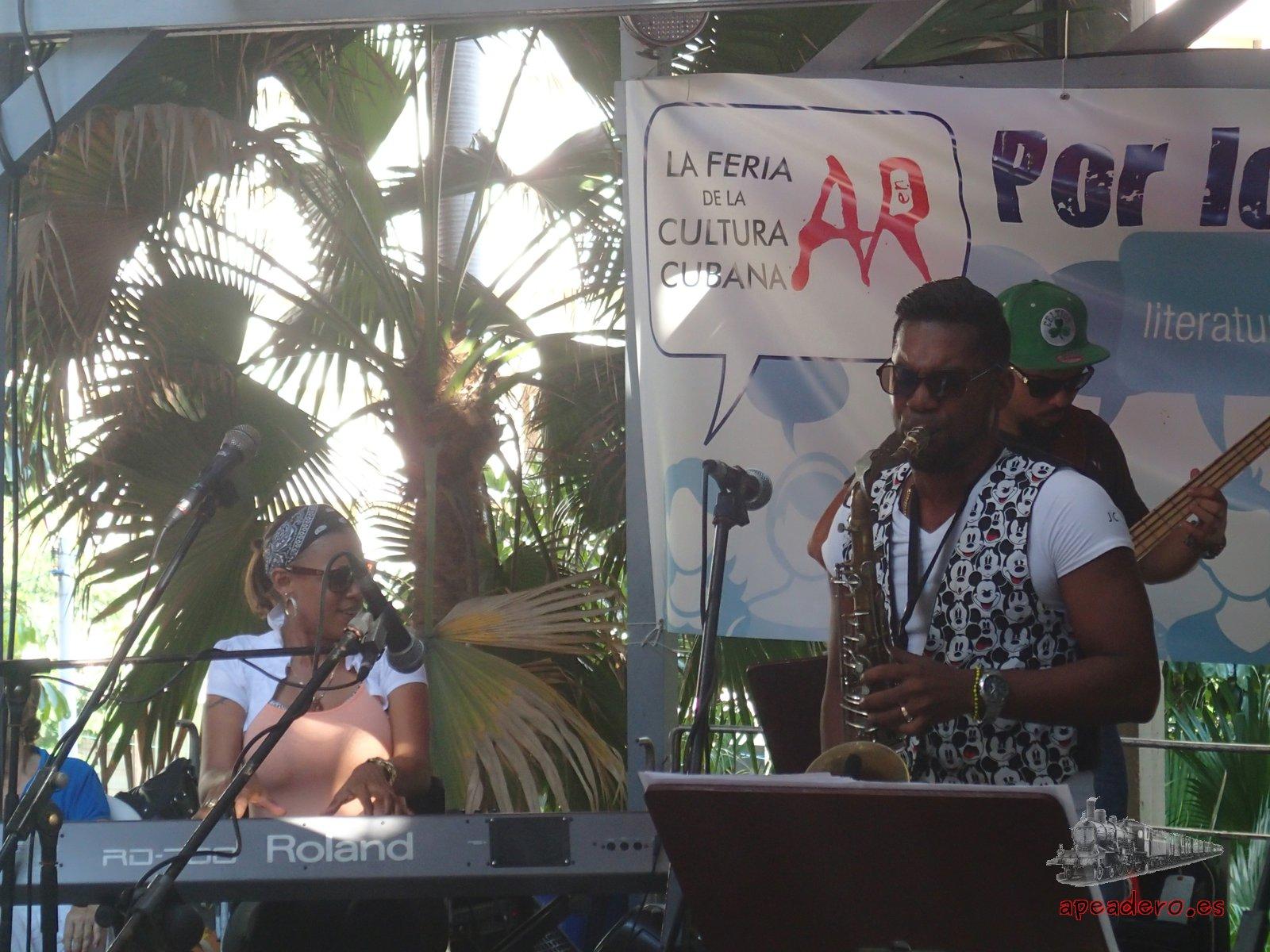 Un concierto de jazz al que asistimos en el Pabellón Cuba de La Habana.