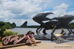 Krabi es una bonita ciudad costera en la que hace un terrible calor.