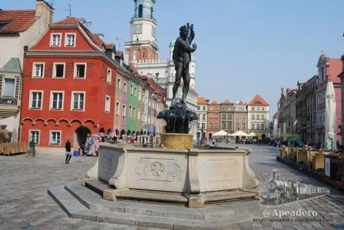 Plaza del ayuntamiento de Poznan