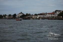 La primera vista de la isla de Lamu