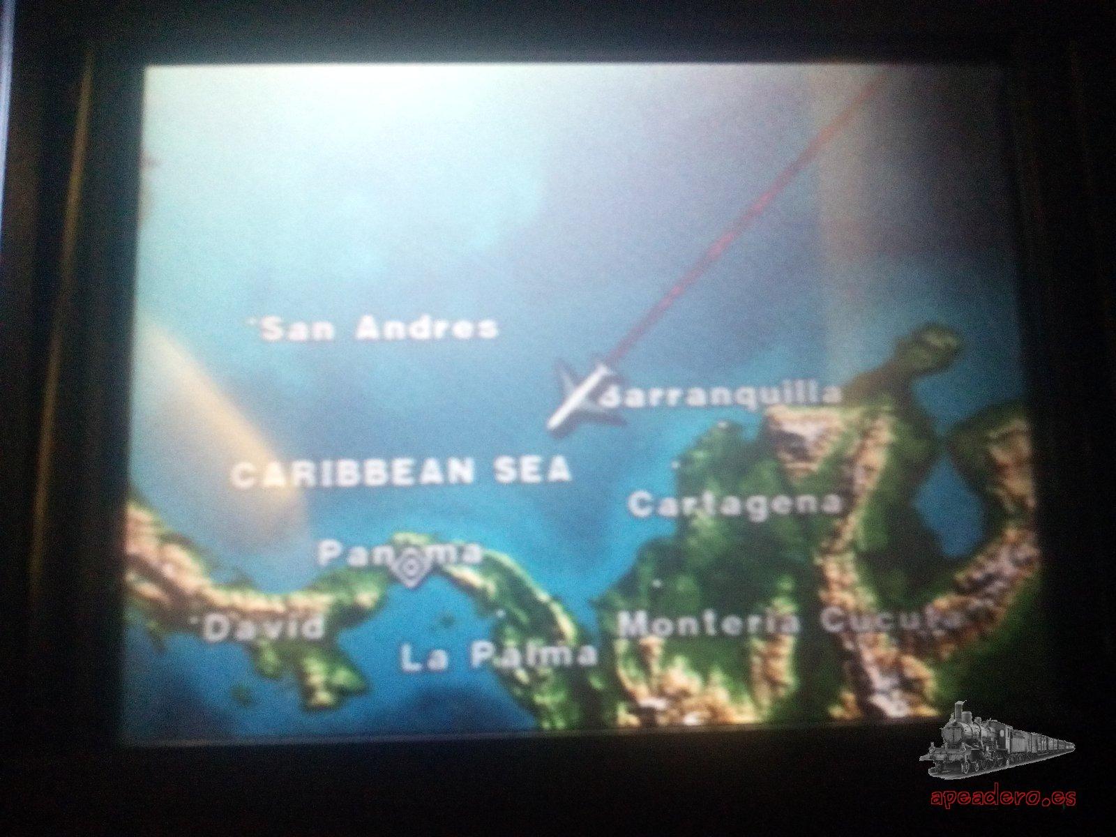 Tanto los vuelos de ida como de regreso fueron cómodos a pesar de las muchas horas de trayecto.