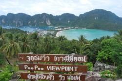 Vale la pena subir hasta el mirador de Phi Phi