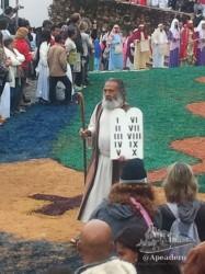 Sin duda, las procesiones de Ouro Preto son... diferentes.