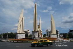 Durante estos días visitamos algunas atracciones menores que nos faltaban en Bangkok como el monumento a la democracia.
