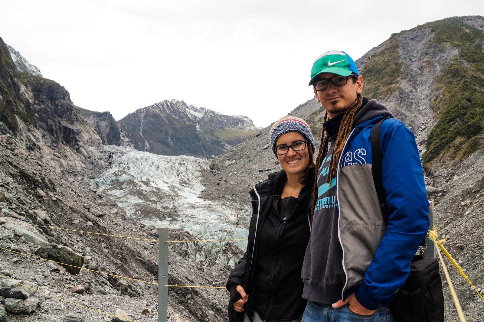 Nuestro diario de aventuras - Glaciar Fox