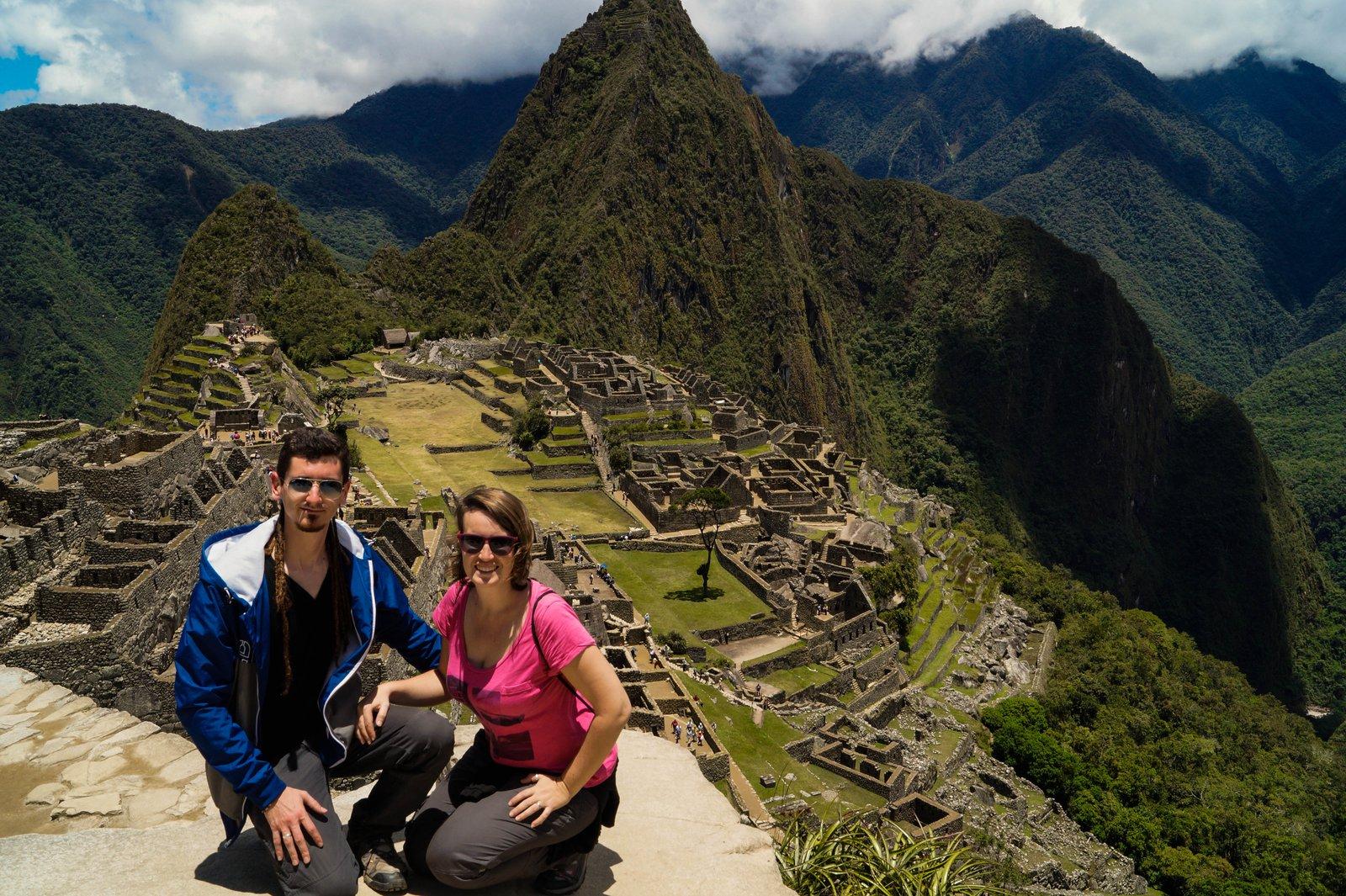 Nuestro diario de aventuras - Machu pichu