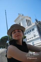 Nuestra estancia en Roma fue interesante, aunque fue triste comprobar que la situación de precariedad ha alcanzado toda Europa.