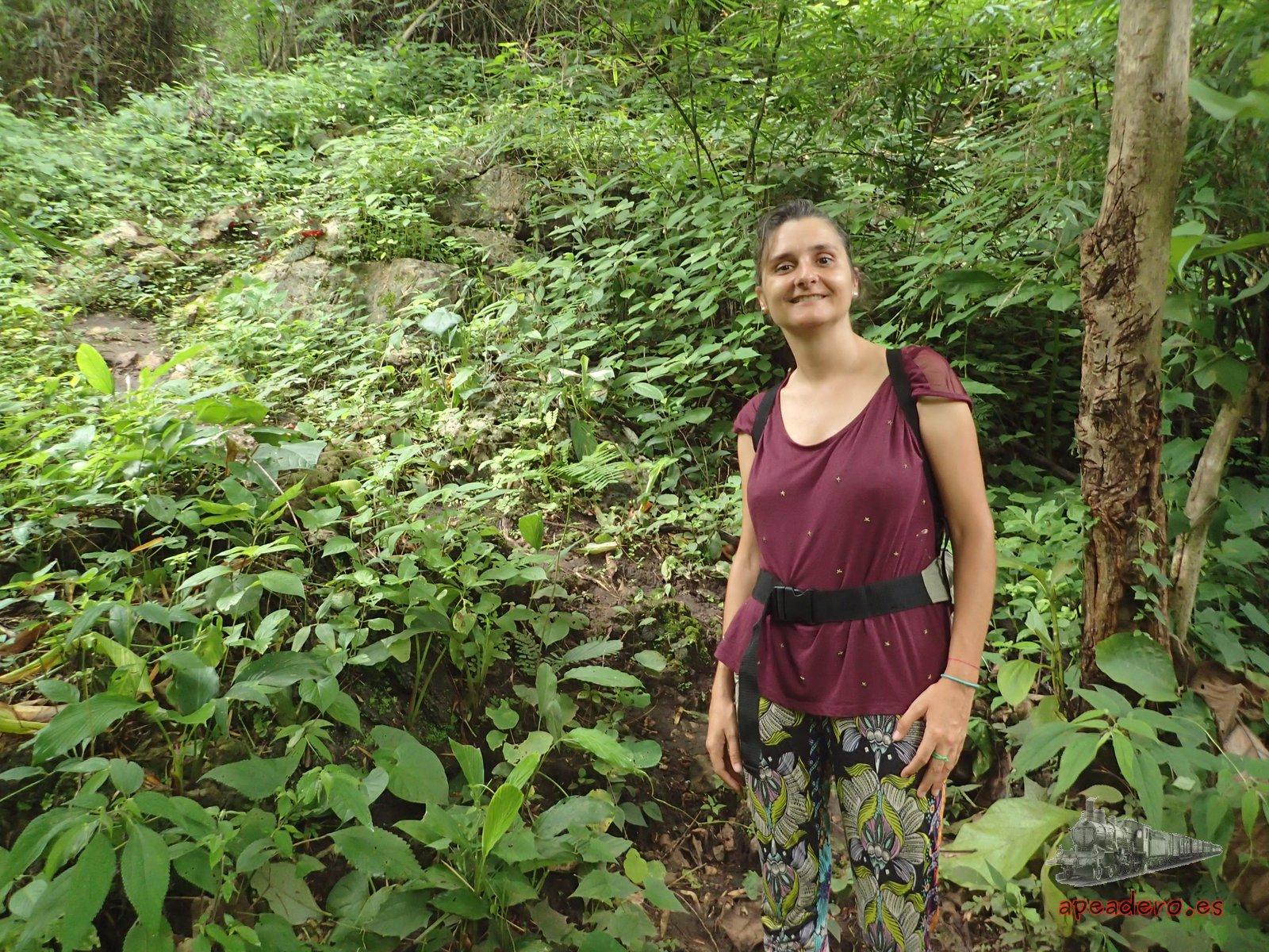 Nuria en el bosque