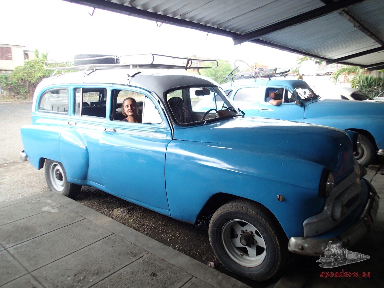 Las máquinas son la forma más rápida de desplazarse en el triángulo de oro de Cuba.