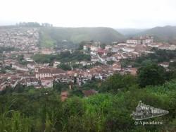 Ouro Preto es una ciudad con muchas cuestas, calles empedradas y muy húmeda, es decir, resbaladiza.